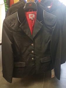 Wedstrijd jas met fluweel kraag